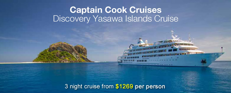Captain Cook Cruises Discovery Yasawa Islands Cruise