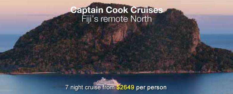 Captain Cook Cruises Fiji's Remote North