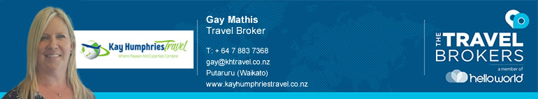 The Travel Brokers Travel Professional Kay Humphries Travel -Putururu