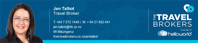 Travel Professional Jen Talbot - Mt Maunganui