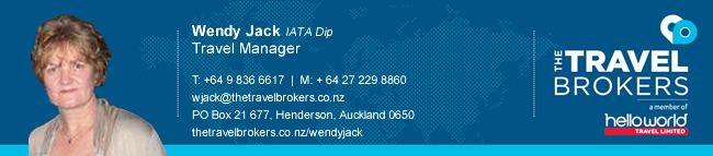 The Travel Brokers Travel Professional Wendy Jack - Auckland