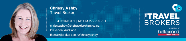 The Travel Brokers Travel Professional Chrissy Ashby - Auckland