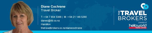 Travel Professional Diane Cochrane - Hamilton