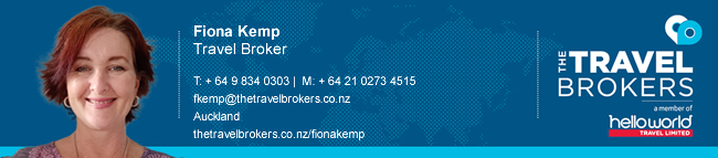 The Travel Brokers Travel Professional Fiona Kemp - Auckland