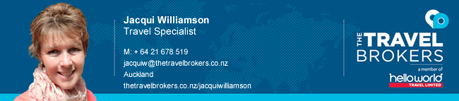 Travel Professional Jacqui Williamson - Auckland