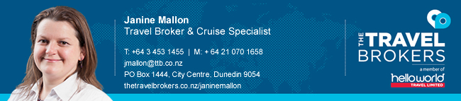The Travel Brokers Travel Professional Janine Mallon - Dunedin