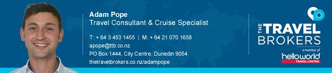 Travel Professional Adam Pope - Dunedin