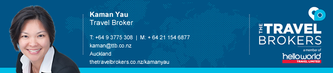The Travel Brokers Travel Professional Kaman Yau - Auckland