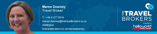 Travel Professional Maree Downey - Wellington
