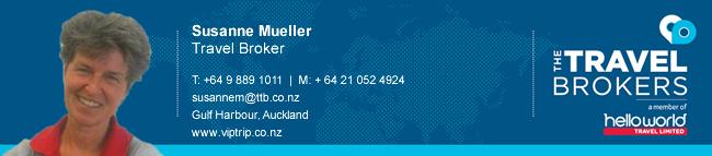 Travel Professional Susanne Mueller - Auckland