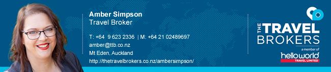 Travel Professional Amber Simpson - Auckland