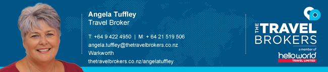 Travel Professional Angela Tuffley - Warkworth