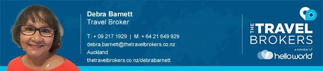 Travel Professional Debra Barnett - Auckland