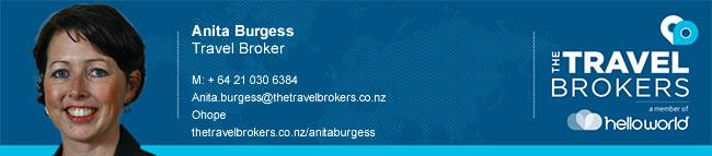 Travel Professional Anita Burgess - Ohope