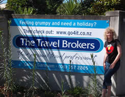 The Travel Brokers Travel Professional Carole Garnham - New Plymouth