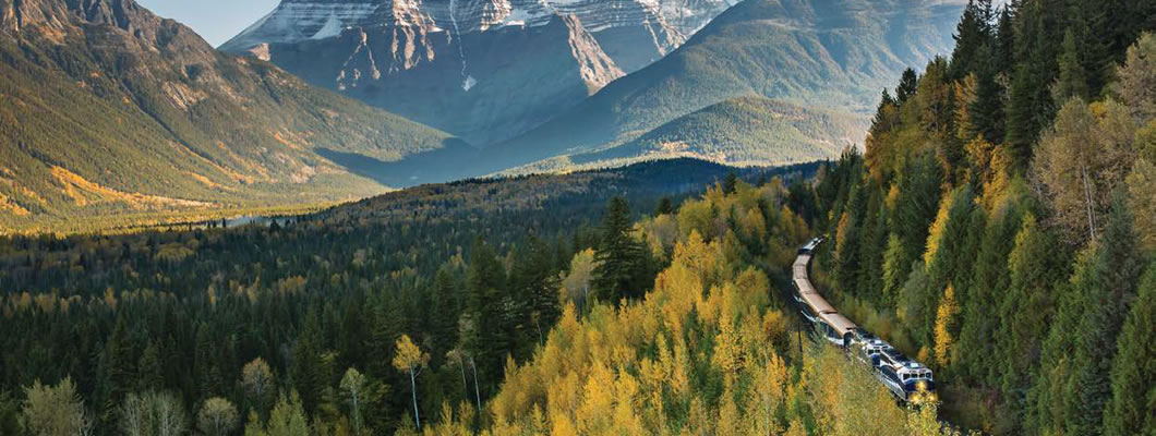 Explore the Canadian Rockies with Rocky Mountaineer