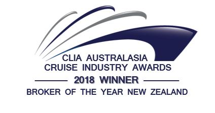 2018 CLIA Broker of the Year New Zealand