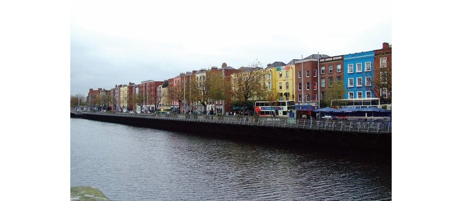 Dublin with Qantas